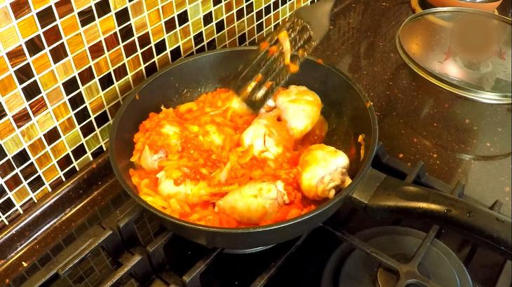 Чахохбили | рагу из курицы – пошаговый рецепт с фотографиями