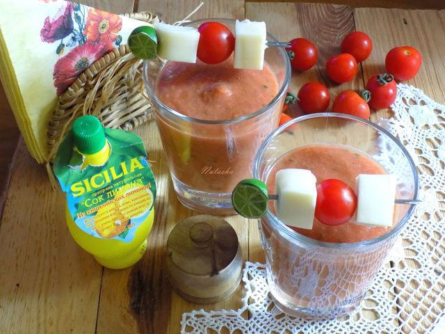 Гаспачо – пошаговый рецепт с фотографиями