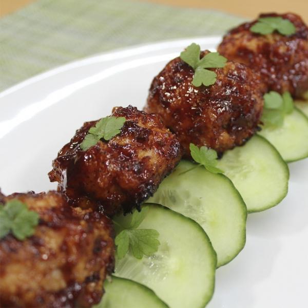 Куриные биточки в пряном соусе – пошаговый рецепт с фотографиями