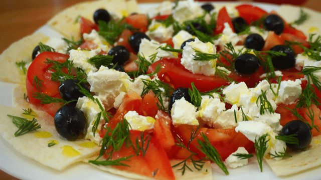 Бомбезный салат греческие острова – пошаговый рецепт с фотографиями