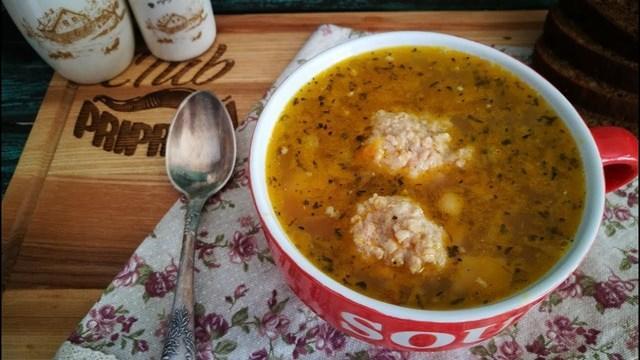 Гороховый суп с фрикадельками – пошаговый рецепт с фотографиями