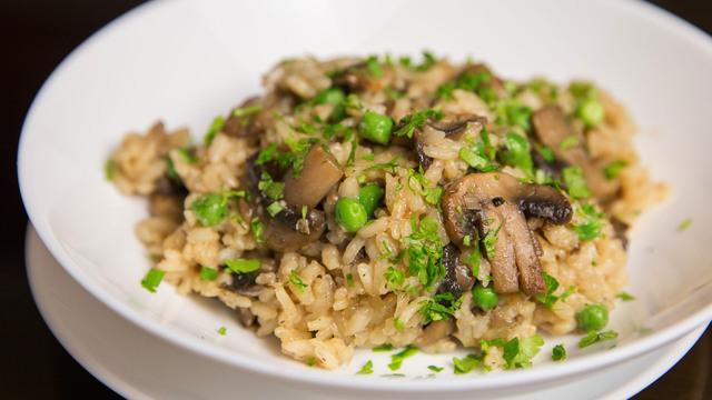 Ризотто с грибами – пошаговый рецепт с фотографиями