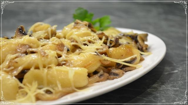 Картофельные ньокки с грибами – пошаговый рецепт с фотографиями
