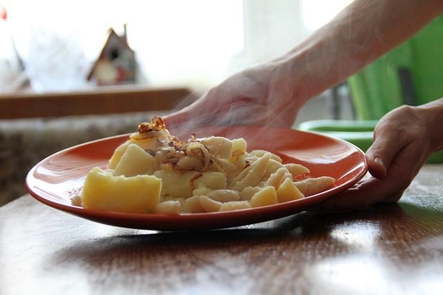 Отличный сытный гарнир к любому мясу! картофельклейс – пошаговый рецепт с фотографиями