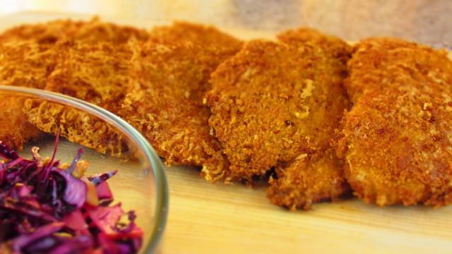Куриные шницели в сырной панировке – пошаговый рецепт с фотографиями