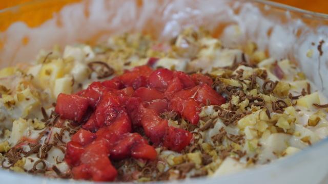 Фруктово-ягодный салат с йогуртом – пошаговый рецепт с фотографиями