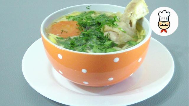 Яичная лапша с куриным бульоном – пошаговый рецепт с фотографиями