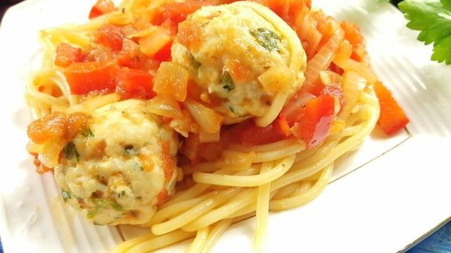 Куриные фрикадельки в томатном соусе – пошаговый рецепт с фотографиями
