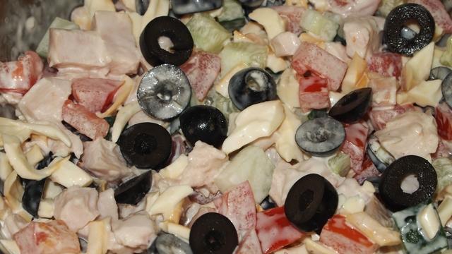 Салат колдунья – пошаговый рецепт с фотографиями