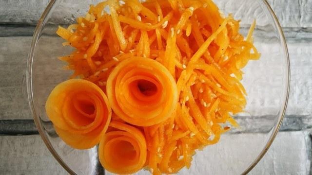 Салат из тыквы – пошаговый рецепт с фотографиями