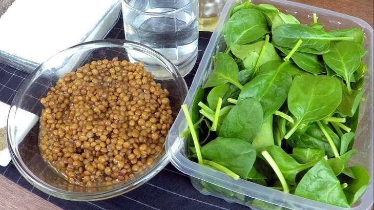 Кутабы с чечевицей и шпинатом | постное меню – пошаговый рецепт с фотографиями