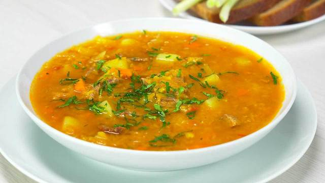 Чечевичный суп – пошаговый рецепт с фотографиями