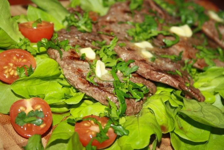 Говяжий шницель-гриль – пошаговый рецепт с фотографиями