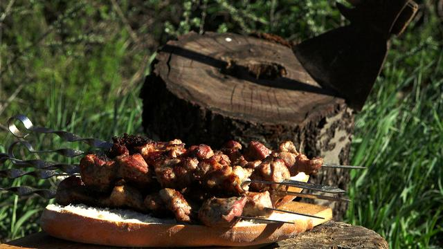 Нежный шашлык лучший маринад для свинины – пошаговый рецепт с фотографиями