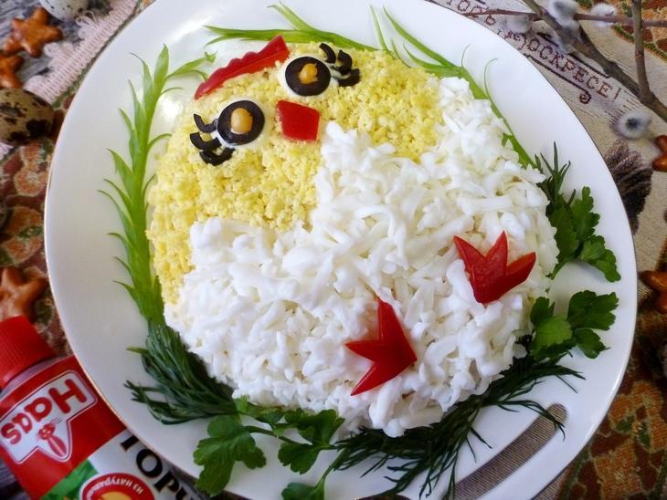 Салат на пасху цыпленок #пасха – пошаговый рецепт с фотографиями