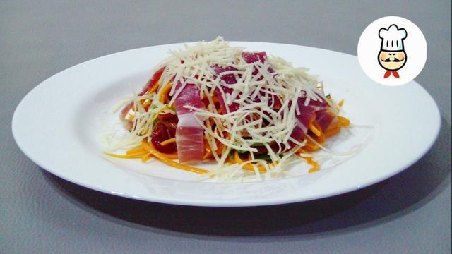 Полезный и вкусный салат из тыквы – пошаговый рецепт с фотографиями
