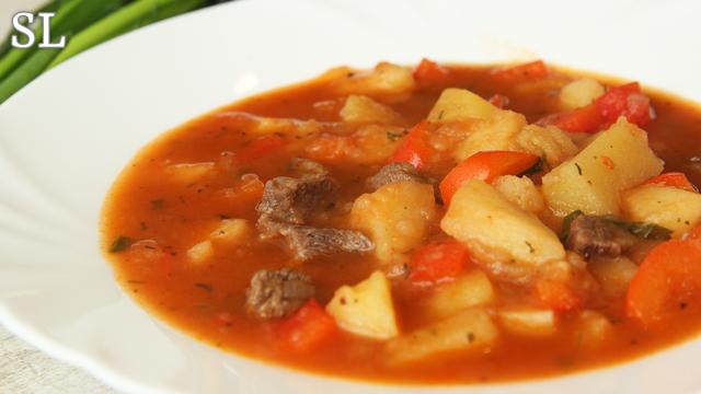 Суп-гуляш – пошаговый рецепт с фотографиями
