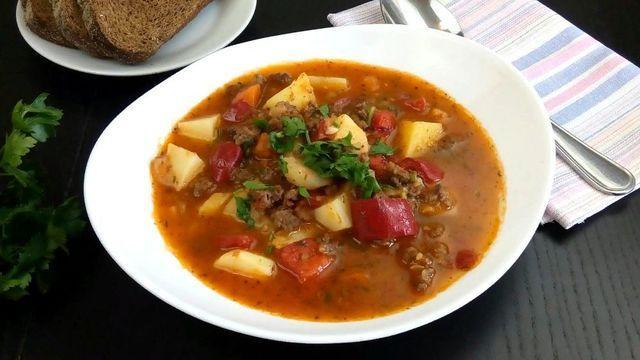Фермерский суп – пошаговый рецепт с фотографиями
