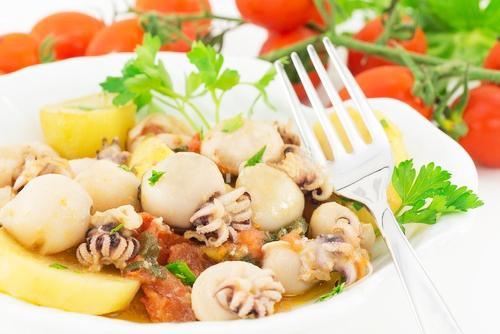 Соте из овощей с морепродуктами – пошаговый рецепт с фотографиями