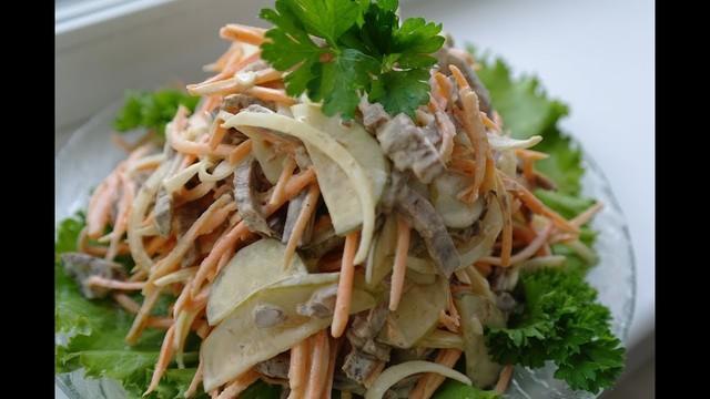 Салат из говядины с овощами – пошаговый рецепт с фотографиями
