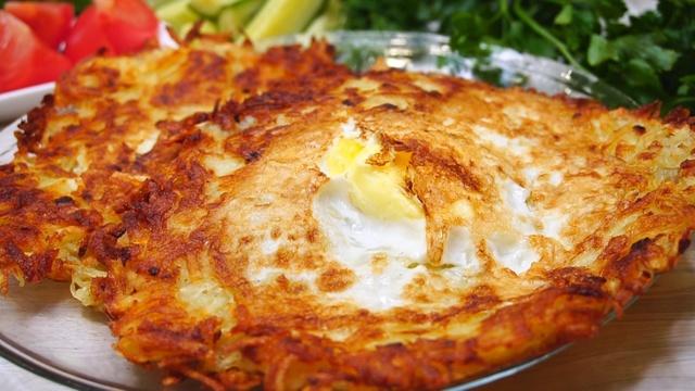 Завтрак из картофеля и яйца – пошаговый рецепт с фотографиями