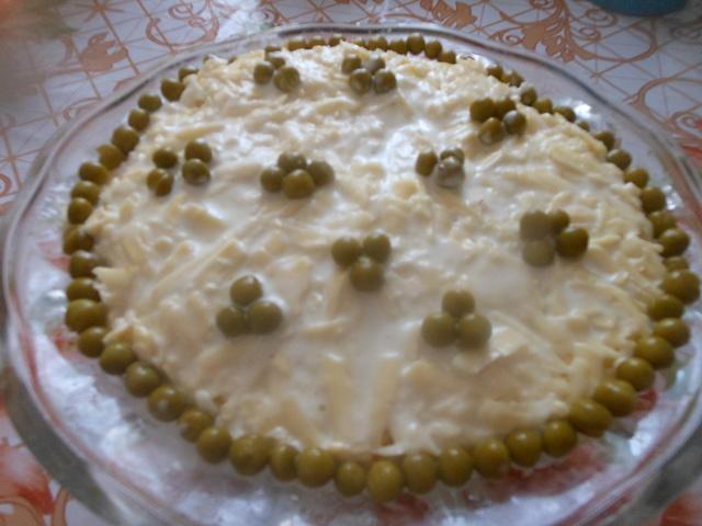 Салат печень под шубой – пошаговый рецепт с фотографиями