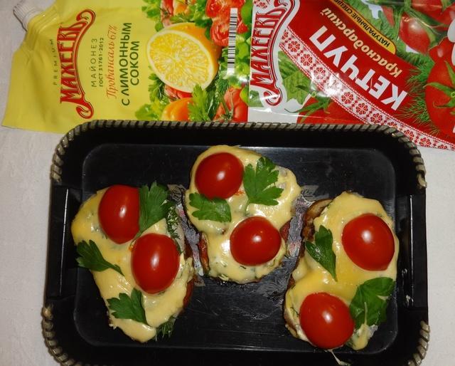 Горячие бутерброды#махеевнаприроде – пошаговый рецепт с фотографиями