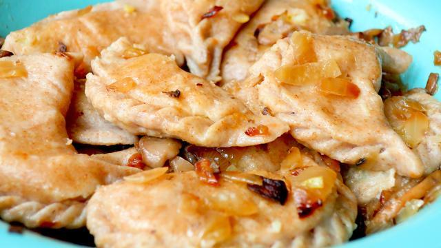 Заварные вареники с запеченной картошкой – пошаговый рецепт с фотографиями