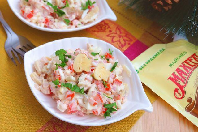 Салат палитра вкуса – пошаговый рецепт с фотографиями