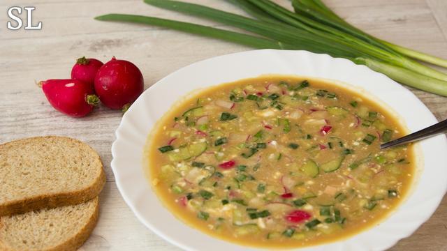 Этот ингредиент делает окрошку еще вкуснее! – пошаговый рецепт с фотографиями