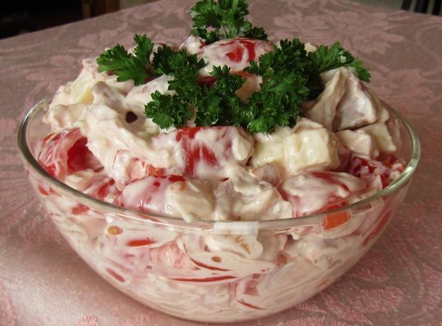 Салат «аппетит» – пошаговый рецепт с фотографиями