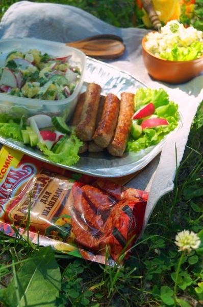 Чевапчичи, колбаски гриль под маринадом махеевъ. #махеевънаприроде – пошаговый рецепт с фотографиями