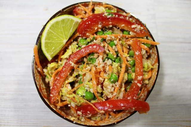 Овощной салат по-тайски – пошаговый рецепт с фотографиями