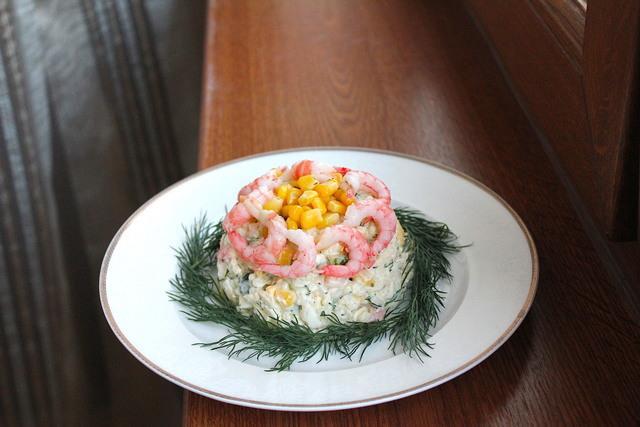 Быстрый и вкусный салат с креветками и кукурузой за 15 минут! – пошаговый рецепт с фотографиями