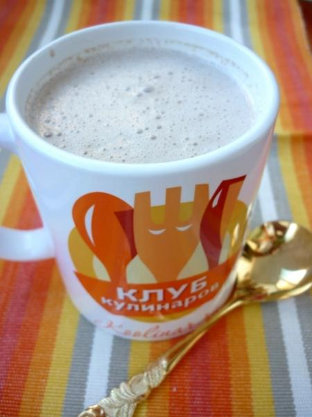 Банановое какао – пошаговый рецепт с фотографиями