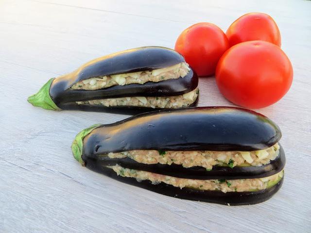 Фаршированные баклажаны / eggplant with meat – пошаговый рецепт с фотографиями