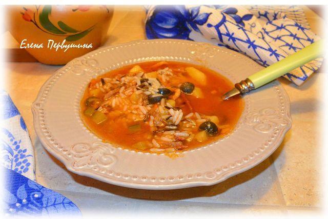 А-ля солянка с рисом  – пошаговый рецепт с фотографиями