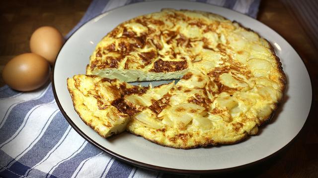 Испанская тортилья – пошаговый рецепт с фотографиями