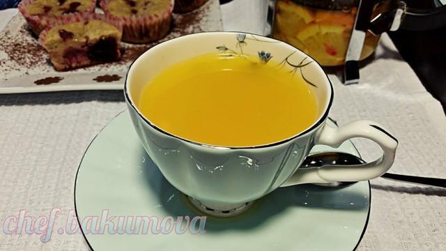 Облепиховый чай с апельсином. видео – пошаговый рецепт с фотографиями