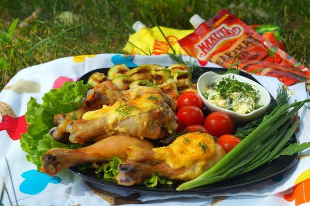 Куриные голени под сырной шапкой #махеевънаприроде. – пошаговый рецепт с фотографиями