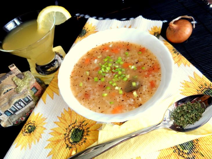 Постный рисовый суп – пошаговый рецепт с фотографиями