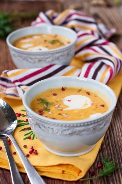 Тыквенный суп с арахисом – пошаговый рецепт с фотографиями