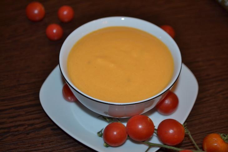 Томатно-тыквенный суп-пюре – пошаговый рецепт с фотографиями