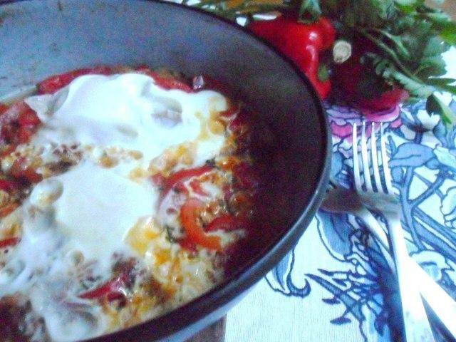 Шакшука на завтрак (мой вариант) – пошаговый рецепт с фотографиями