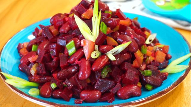 Салат красная красавица – пошаговый рецепт с фотографиями