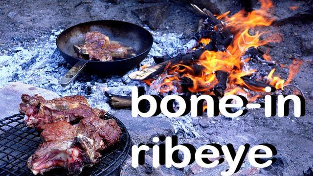 Рибай на кости из телятины с соусом чимичурри – пошаговый рецепт с фотографиями