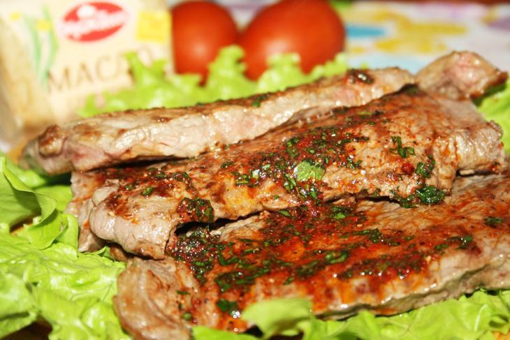 Говядина под ароматным маслом – пошаговый рецепт с фотографиями