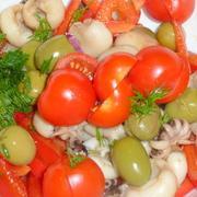 Салат с мини-кальмарчиками – пошаговый рецепт с фотографиями