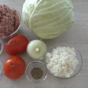 Капустный рулет с фаршем / простой рецепт  – пошаговый рецепт с фотографиями