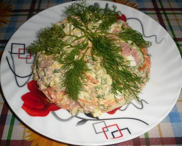 Салат «шедевр» – пошаговый рецепт с фотографиями